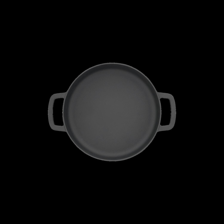Sous-Chef double handle black 24 cm