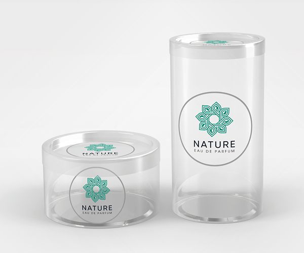 UPG Clear Transparent Label on a clear plastic case