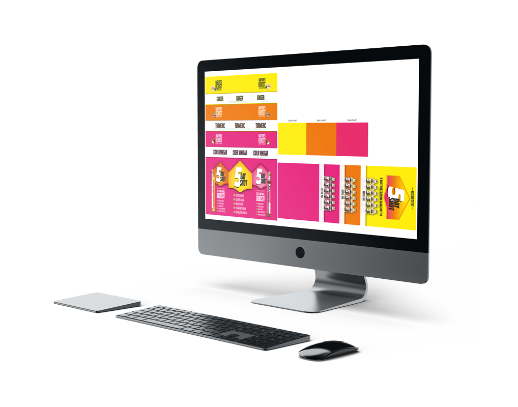UPG Computer Screen with FSDU design