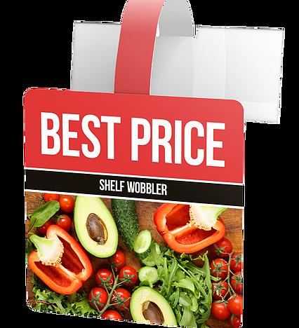 Best Price Wobbler POS