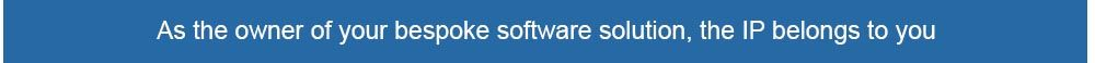 by owning the software you own the IP