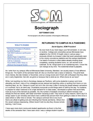 SOM Socoiograph from September 2020