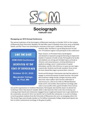 SOM Socoiograph from February 2020