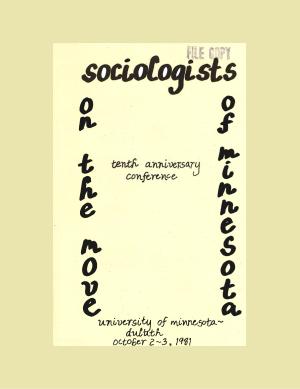 Program for SOM Conference 1981