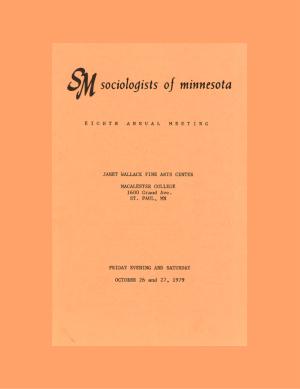Program for SOM Conference 1979