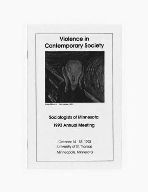 Program for SOM Conference 1993