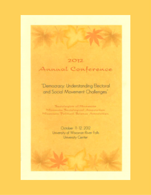Program for SOM Conference 2012