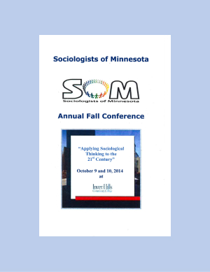 Program for SOM Conference 2014
