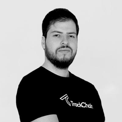 Photo by Hugo Álvarez CFO of Trackchain