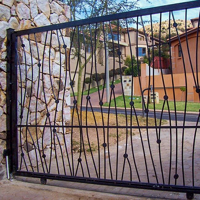 Wrought iron gate makers johannesburg