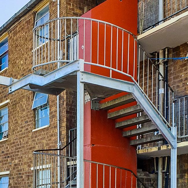 Fire escape stairs .co.za