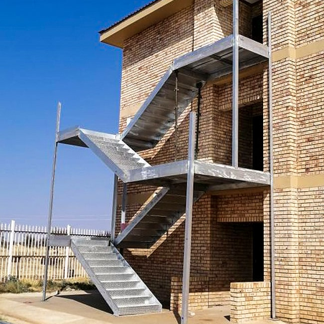 fire escape steel