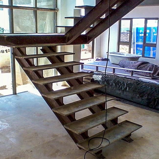 Steel staircase hand made Gauteng