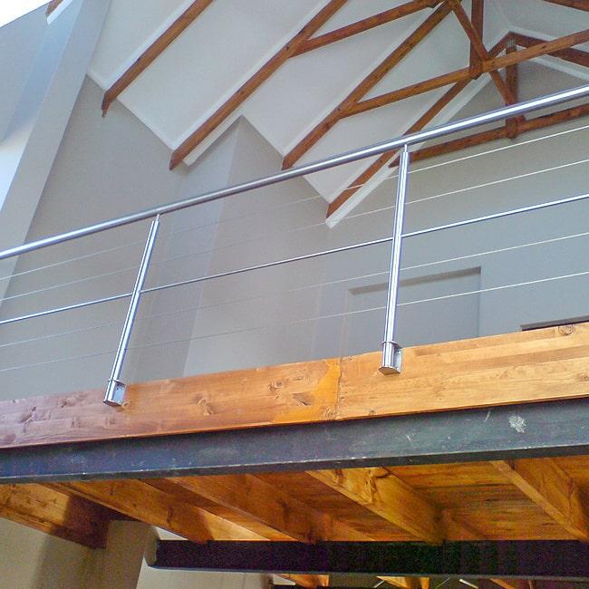 Steel and cable balcony railings .co.za