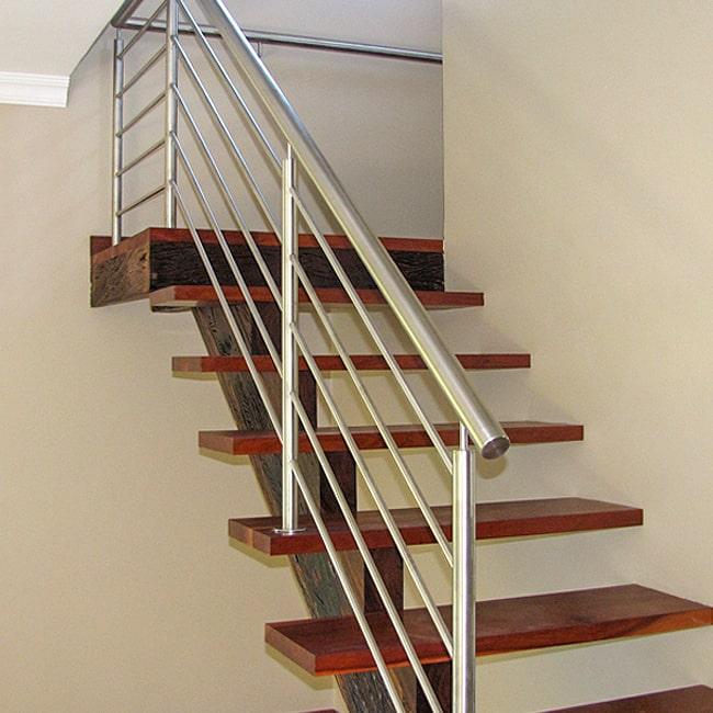 Floating staircase handrails .co.za