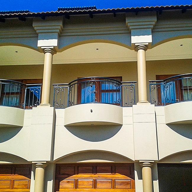 Wrought iron balustrade designs