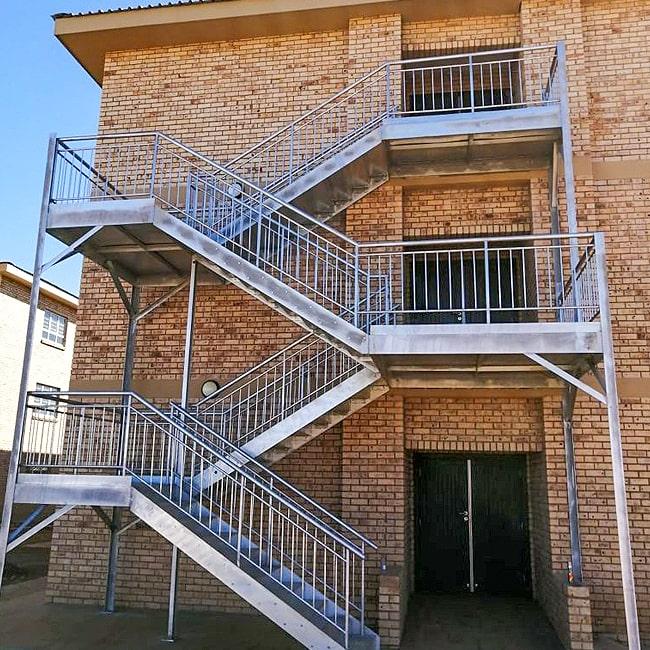 Steel staircase .co.za