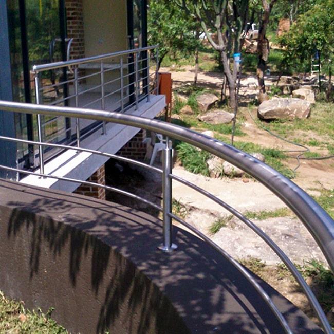 Balcony railing steel