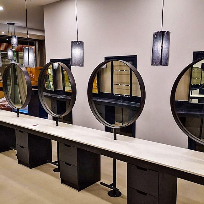 Custom steel mirrors Pretoria johannesburg