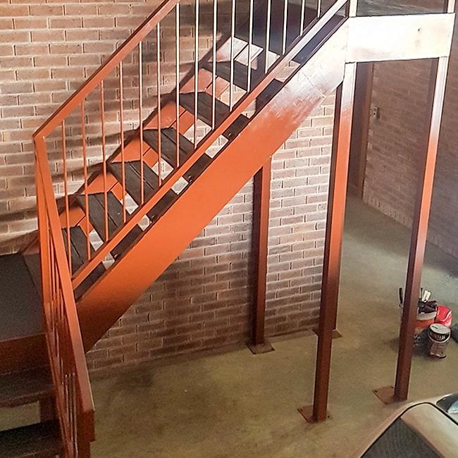 Mezzanine staircases