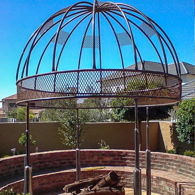 Steel and metal garden gazebo Gauteng