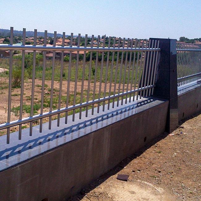 Steel fencing johannesburg
