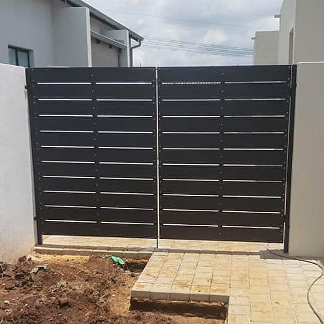 Composite wood gate