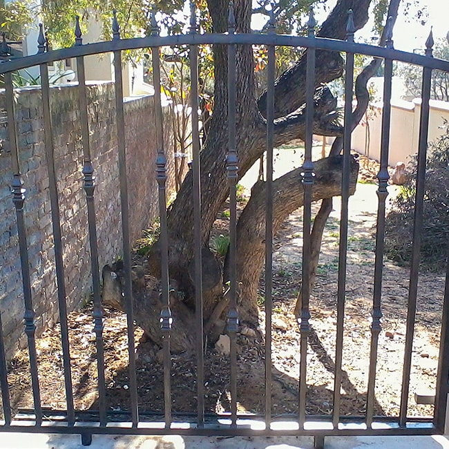 Wrought iron fencing johannesburg