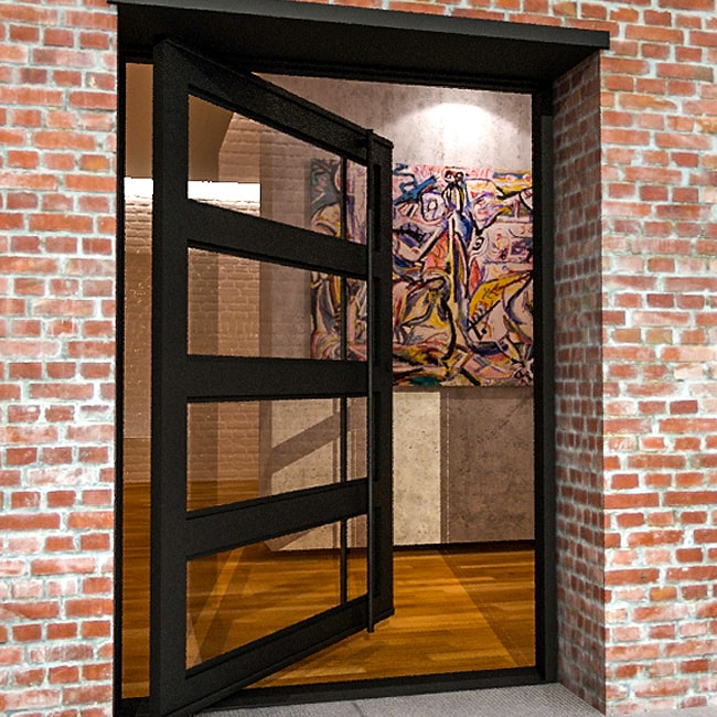 Steel and glass doors made to size