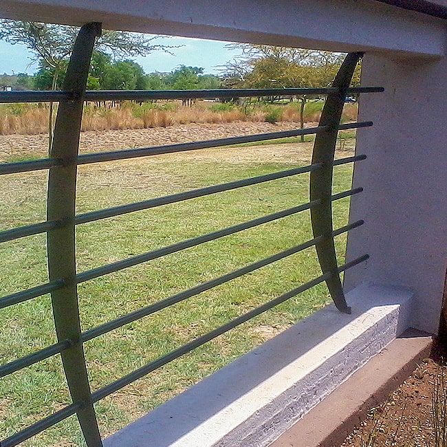 Steel fencing made to order