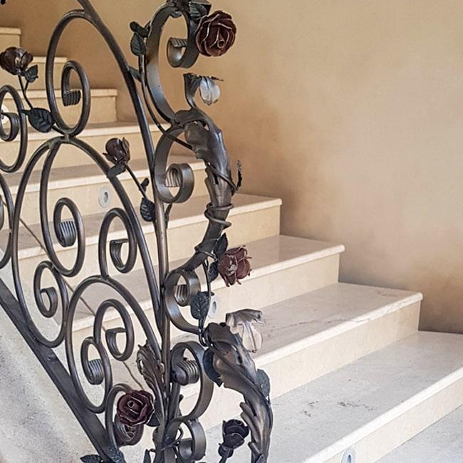 Wrought iron balustrade installers Gauteng