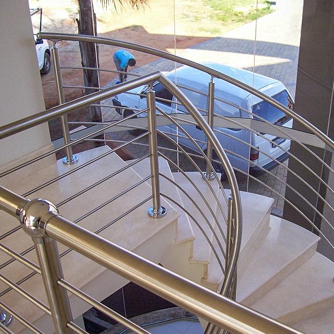 Stainless steel balustrades installations
