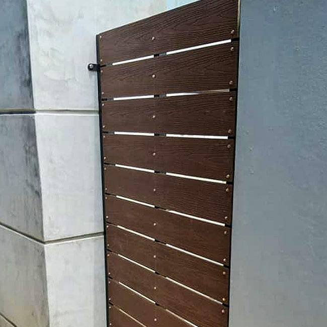 Composite wood security gate Johannesburg Midrand