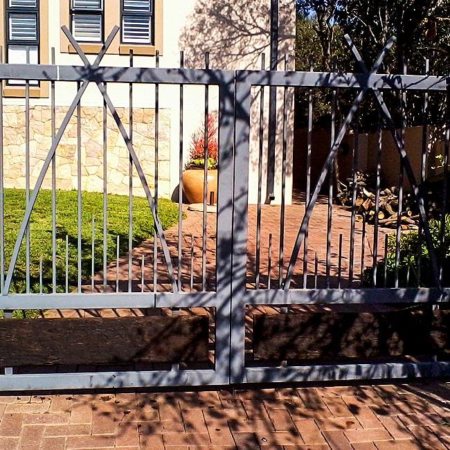 Mild steel gate designs