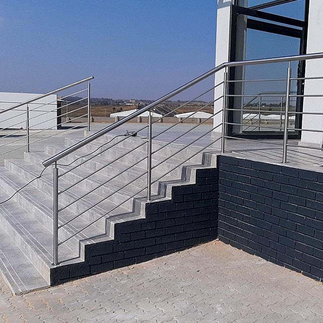 Stainless steel stair railings installed near me