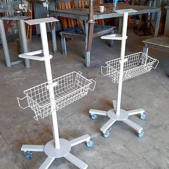 Steel trolleys for sale