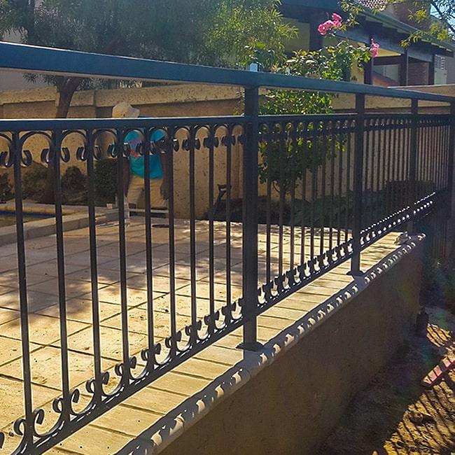 Pool deck balustrades pretoria