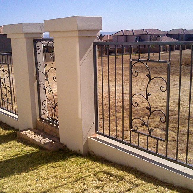 Wrought iron fencing pretoria