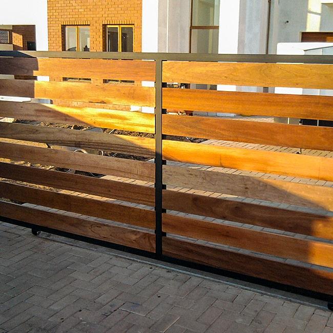 Saligna and steel driveway gates johannesburg