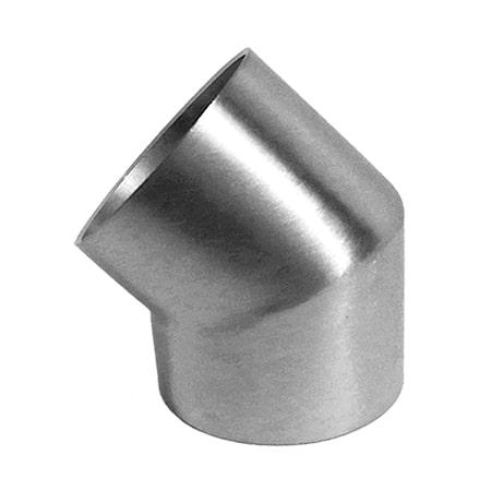 Steel bend for balustrade