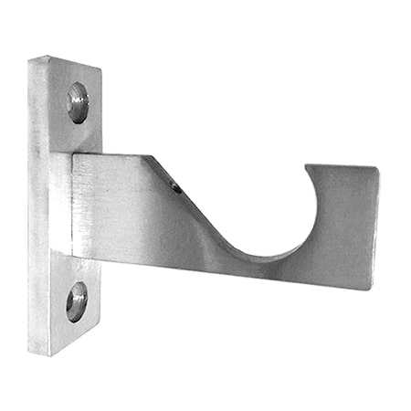curtain rod support