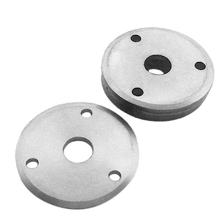 steel screw mount plates