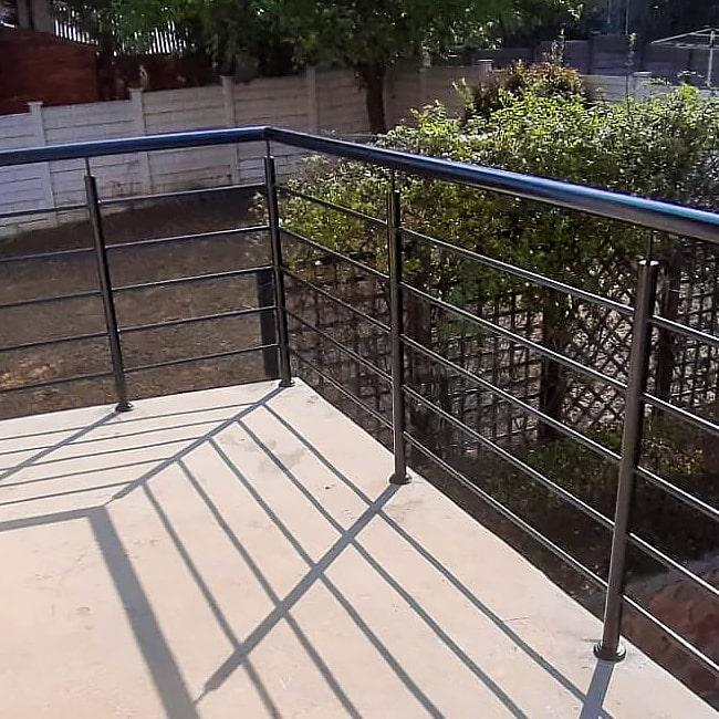 mils steel balustrade design
