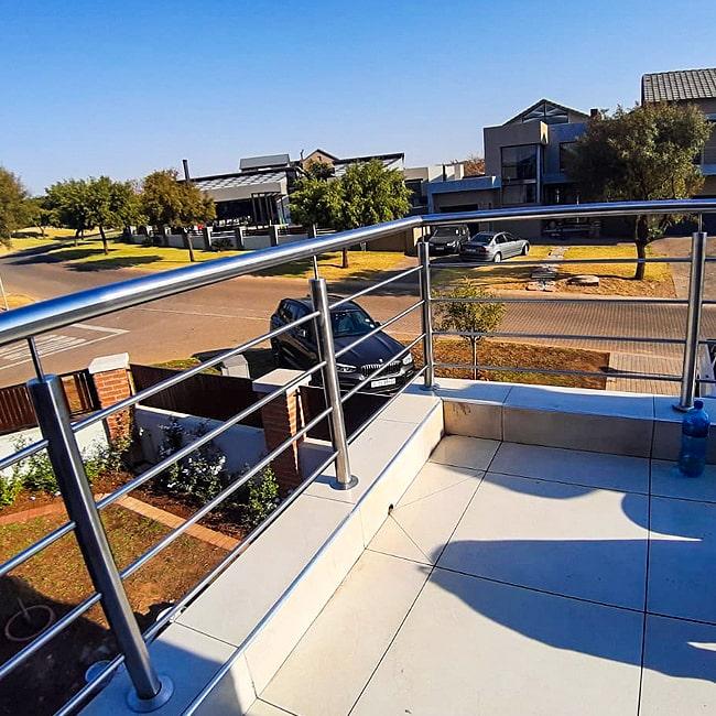 stainless steel balcony balustrade centurion