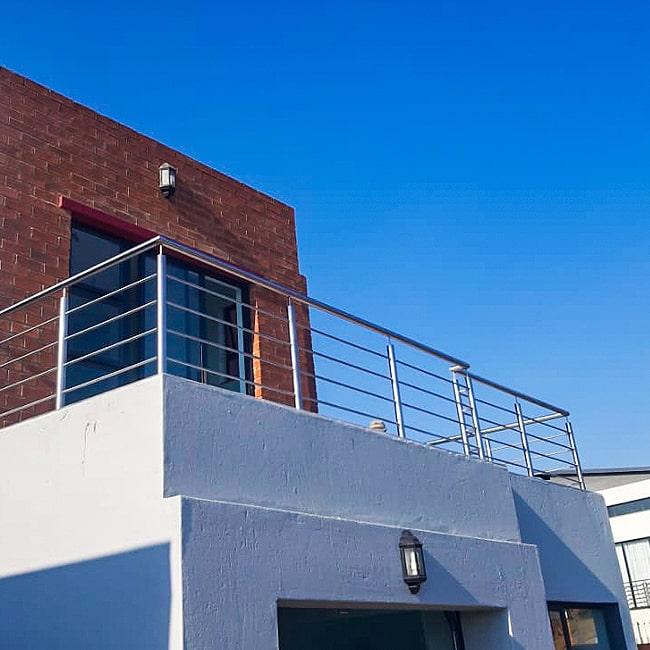 stainless steel balustrade installed centurion