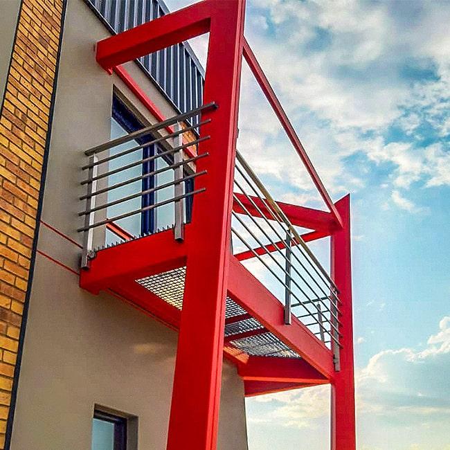 Modern Stainless Steel balcony balustrade