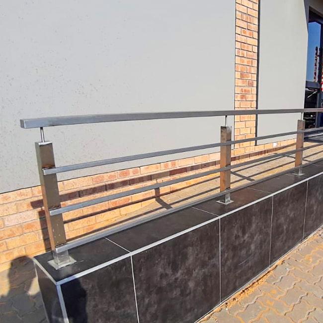 Stainless Steel walkway handrail