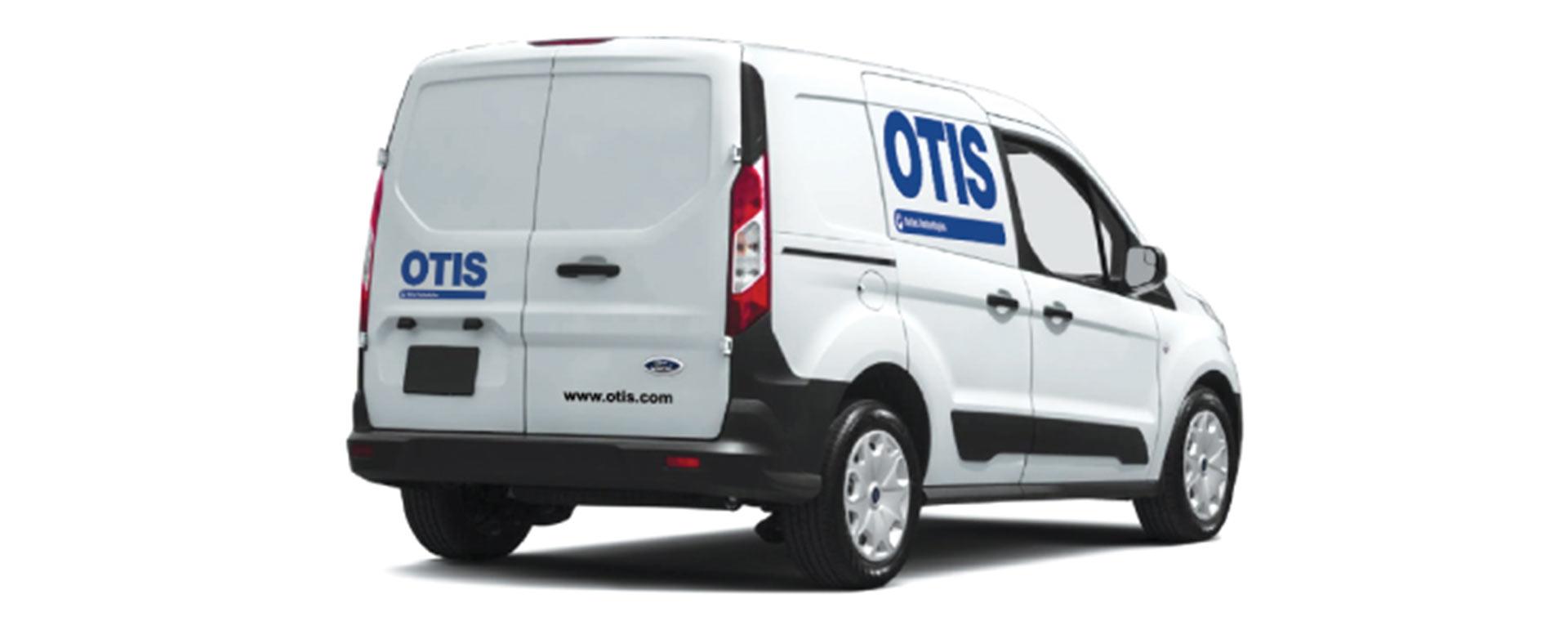 North America Otis Elevator vehicle  and testimonial for Associated Graphics Inc.