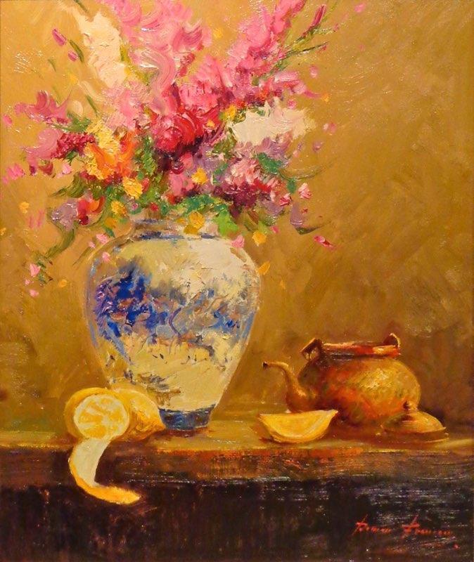 Frances, The Teapot