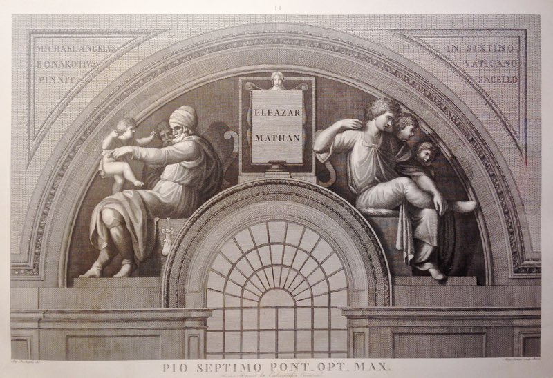 Michelangelo, Eleazar and Mathan